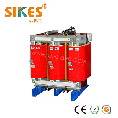 Three phase 12-pulse rectifier transformer