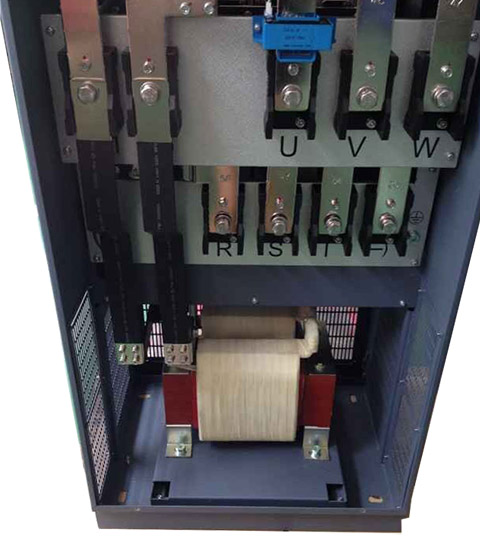 Internal Choke for frequency inverter and servo drive