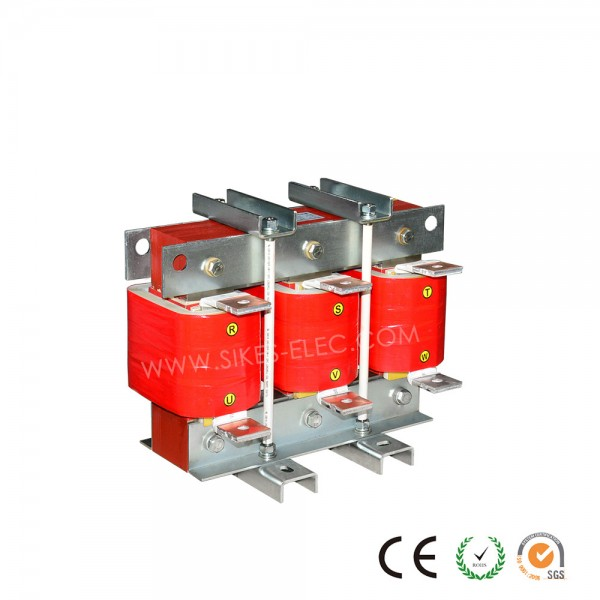Filtering Reactor for Regenerative drive,Rated Current 120A, 0.318mH