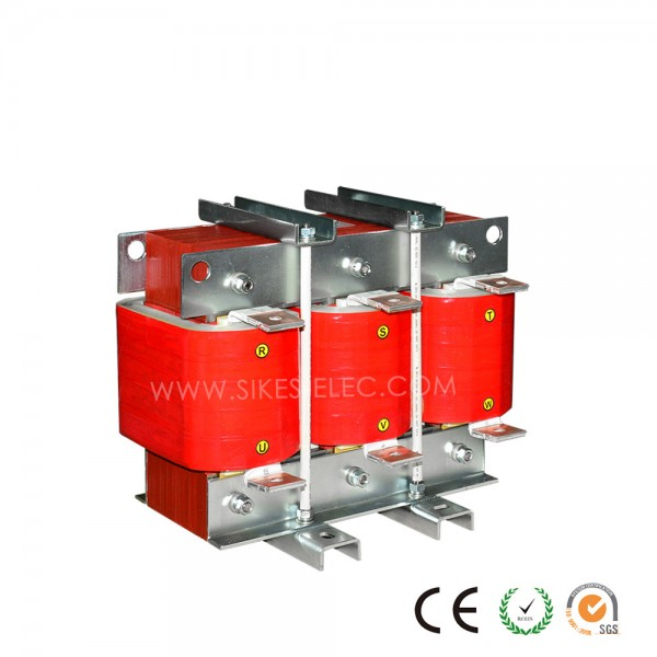 Filtering Reactor for Regenerative drive,Rated Current 120A, 0.637mH