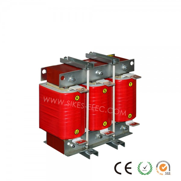 Filtering Reactor for Regenerative drive,Rated Current 227A, 0.45mH