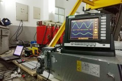 Three phase 12-pulse rectifier transformer
