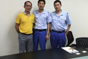 Discussing technical solutions in Japanese company