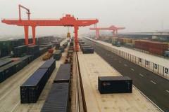 Railway cargo station project