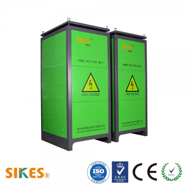 Braking Resistor cabinet Rated Power 120kW, IP23