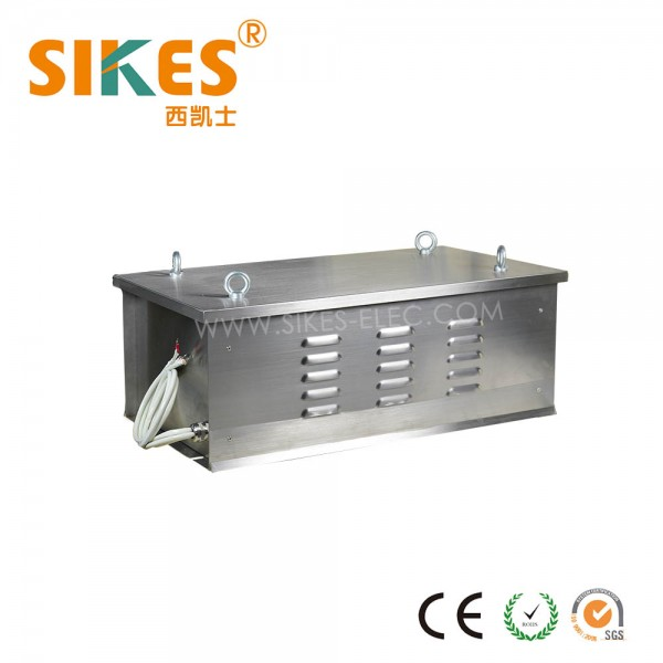 Stainless Steel Resistor Cabinet 23kW, IP54 dedicated for port crane & industrial elevator