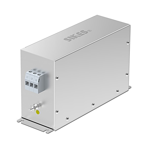 EMC/EMI Filter 3 phase output,Rated current 30A