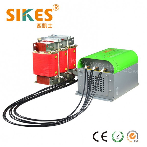 Sine wave filter, dv/dt filter 132kw Rated Current 270A, Separate