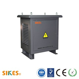 Photovoltaic isolation transformer encapsulated 25Kva for solar power or wind power transmission