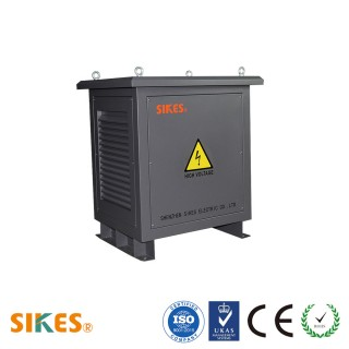 Photovoltaic isolation transformer encapsulated 55Kva for solar power or wind power transmission